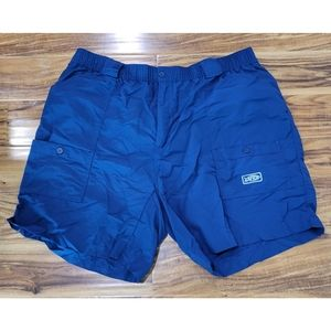 Aftco navy shorts